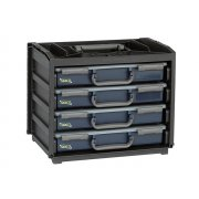 Raaco Portable Handy Box + 4 A4 Assorters