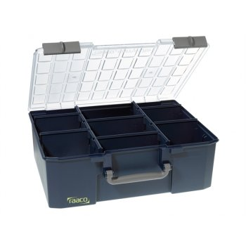 Raaco RaacoCarryLite Organiser Case 150-9 9 Dividers Model No- 136341