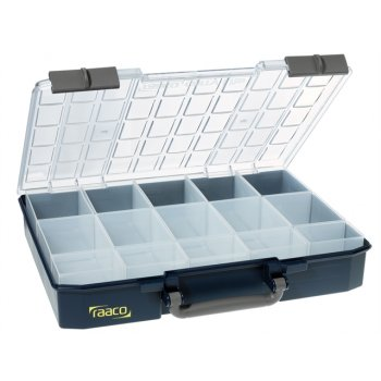 Raaco RaacoCarryLite Organiser Case 80 5x10-15 15 Inserts Model No- 136310