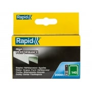 Rapid 140/10 10mm Galvanised Staples Pack 2000