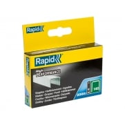 Rapid 140/8 8mm Galvanised Staples Pack 2000