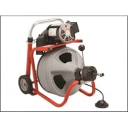 RIDGID K-400 AUTOFEED© Drum Machine with C-32IW (Integral Wound) Solid Core Cable 28098 Model No. 28098