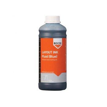 ROCOL Layout Ink Fluid-Blue 1 Litre