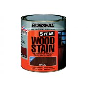 Ronseal 5 Year Woodstain Black Ebony 750ml