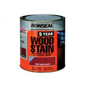 Ronseal 5 Year Woodstain Deep Mahogany 250ml