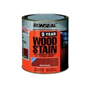 Ronseal 5 Year Woodstain Mahogany 250ml