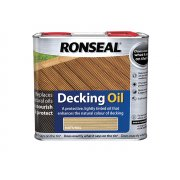 Ronseal Decking Oil Natural Clear 5 Litre