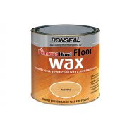 Ronseal Diamond Hard Floor Wax Natural 2.5 Litre