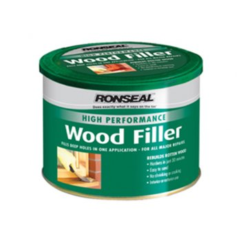 Ronseal High Performance Wood Filler White 275g