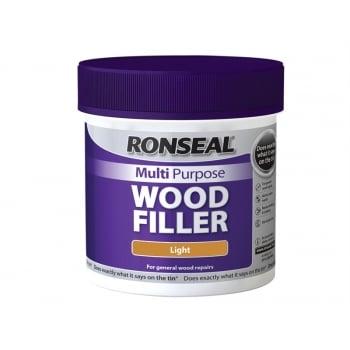 Ronseal Multi Purpose Wood Filler Tub Light 465g