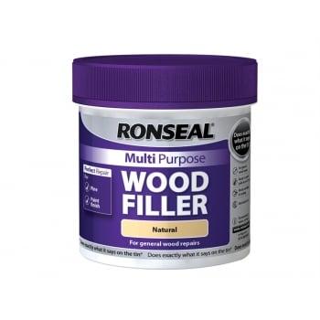 Ronseal Multi Purpose Wood Filler Tub Natural 465g