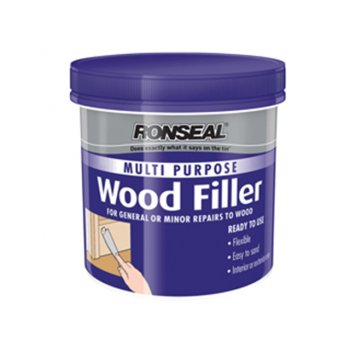 Ronseal Multi Purpose Wood Filler Tub White 250g