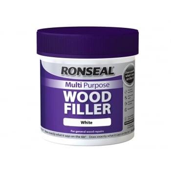 Ronseal Multi Purpose Wood Filler Tub White 465g