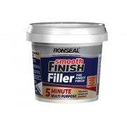 Ronseal Smooth Finish 5 Minute Multi Purpose Filler Tub 290ml