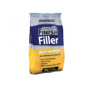 Ronseal Smooth Finish Multi Purpose Interior Wall Powder Filler 5kg