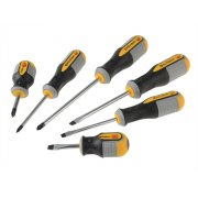 Roughneck Screwdriver Set of 6 SL/PZ