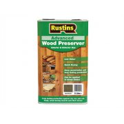 Rustins Advanced Wood Preserver Dark Brown 5 Litre