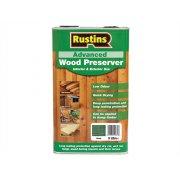 Rustins Advanced Wood Preserver Green 5 Litre