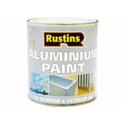Rustins Aluminium Paint 500ml