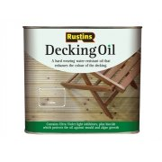 Rustins Decking Oil Clear 5 Litre