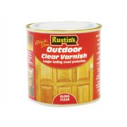 Rustins Exterior Varnish Clear Gloss 1 Litre