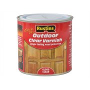 Rustins Exterior Varnish Clear Gloss 250ml