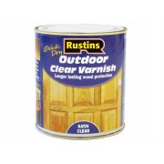 Rustins Exterior Varnish Satin 250ml