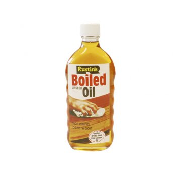 Rustins Linseed Oil Boiled 500ml