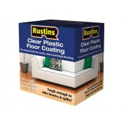 Rustins Plastic Floor Coating Kit Satin 4 Litre