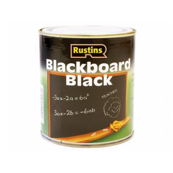 Rustins Quick Dry Blackboard Black 250ml