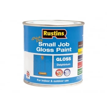 Rustins Quick Dry Small Job Gloss Paint Delphinium 250ml