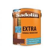 Sadolin Extra Durable Woodstain Mahogany 5 Litre