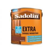 Sadolin Extra Durable Woodstain Redwood 2.5 Litre