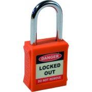Safety Lockout Padlocks - Orange (6 pack)