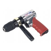 Sealey 13mm Reversible Air Drill with Keyless Chuck Model No-GSA27