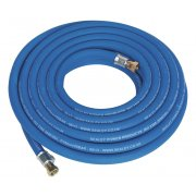 "Sealey Air Hose 10mtr x 10mm with 1/4""BSP Unions Extra Heavy-Duty Model No-AH10R/38"