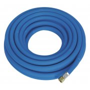 "Sealey Air Hose 10mtr x 8mm with 1/4""BSP Unions Extra Heavy-Duty Model No-AH10R"