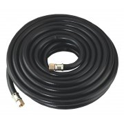 "Sealey Air Hose 10mtr x 8mm with 1/4""BSP Unions Heavy-Duty Model No-AH10RX"