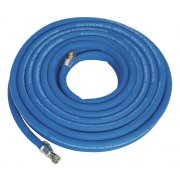 "Sealey Air Hose 15mtr x 10mm with 1/4""BSP Unions Extra Heavy-Duty Model No-AH15R/38"