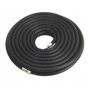 "Sealey Air Hose 15mtr x 10mm with 1/4""BSP Unions Heavy-Duty Model No-AH15RX/38"