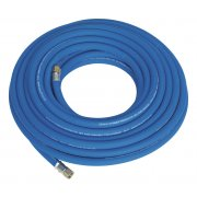"""Sealey Air Hose 15mtr x 8mm with 1/4""""BSP Unions Extra Heavy-Duty Model No-AH15R"""