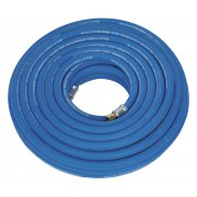 """Sealey Air Hose 20mtr x  10mm with 1/4""""BSP Unions Extra Heavy-Duty  Model No-AH20R/38"""