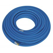 """Sealey Air Hose 20mtr x 8mm with 1/4""""BSP Unions Extra Heavy-Duty Model No-AH20R"""
