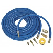 Sealey Air Hose Kit Heavy-Duty 15mtr x 10mm with Connectors Model No-AHK02