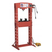 Sealey Air/Hydraulic Press 30tonne Floor Type with Foot Pedal Model No-YK309FAH