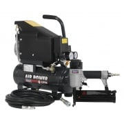 Air Nail/Staple Gun Kit including Compressor, Hose & Nailer/Stapler : Model No.SAC0610EKIT