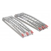 Sealey Aluminium Loading Ramps 680kg Capacity per Pair Model No-LR680