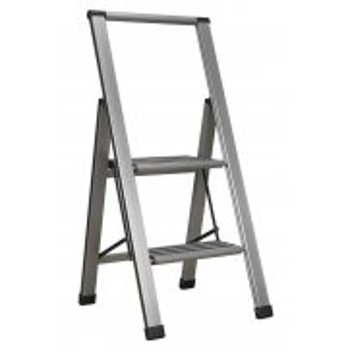 Sealey Aluminium Professional Folding Step Ladder 2-Step 150kg Capacity Model No-APSL2