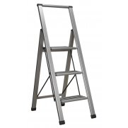 Sealey Aluminium Professional Folding Step Ladder 3-Step 150kg Capacity Model No-APSL3