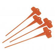 Sealey Applicator Nozzle Stopper Pack of 4 Model No- AK391